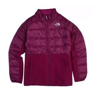 The North Face Girls Borden Denali Fleece Jacket